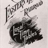 C & EI Time Table (1899)
