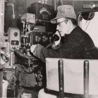 Kenneth Talkington in Engine Cab
