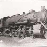C & EI Steam Engine #1044